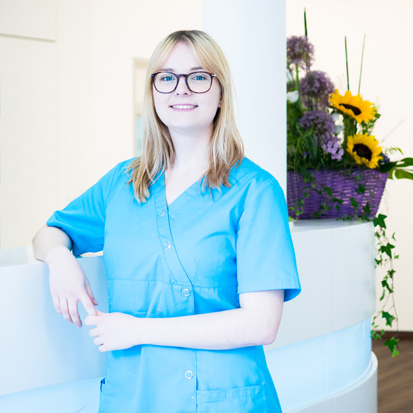 Verena Kudlek Zahnmedizinische Fachangestellte
