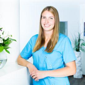 Chantal Kühn zahnmedizinische Fachangestellte